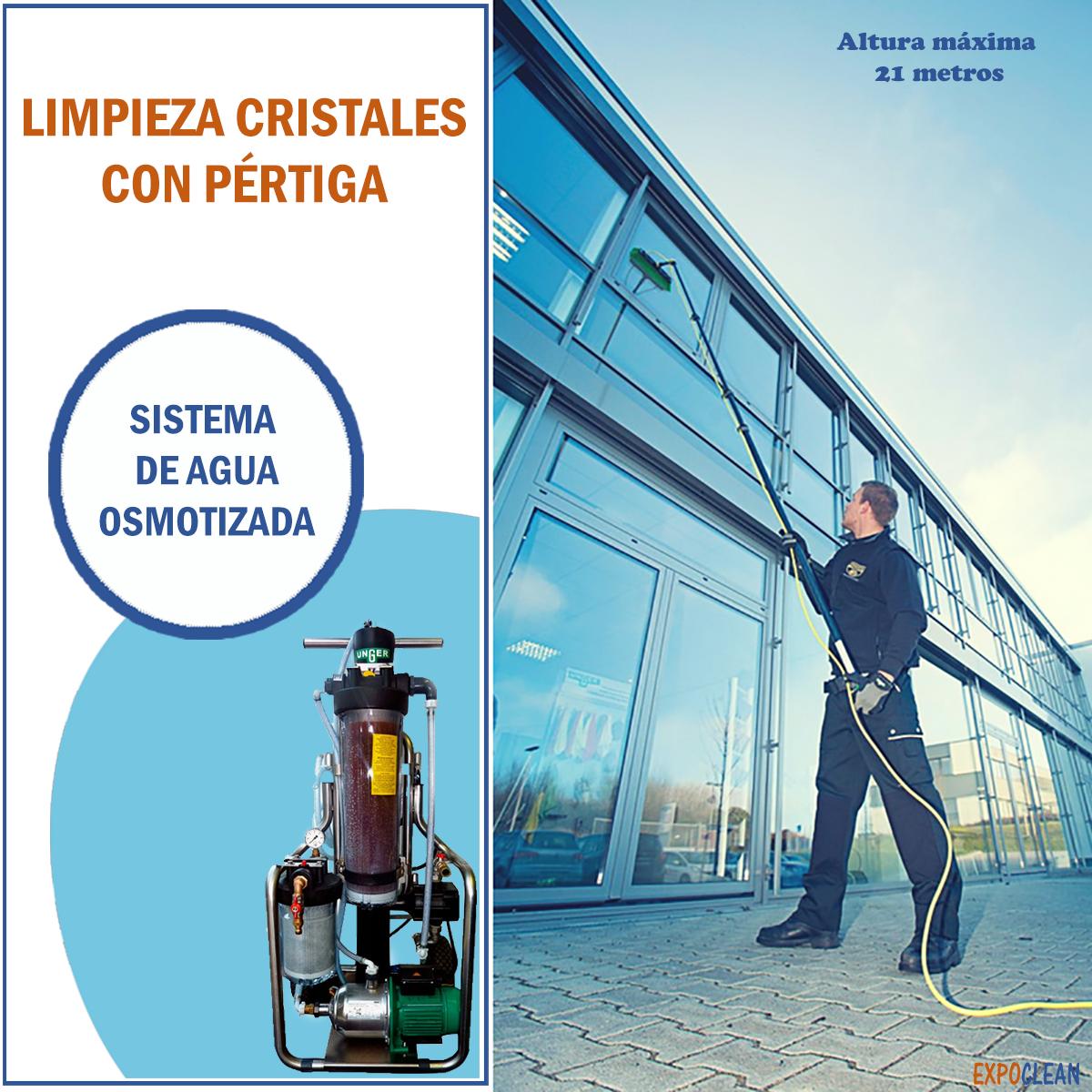 Empresa de servicios de limpieza de ventanas y cristales