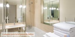 Limpieza de baños: Trucos y consejos