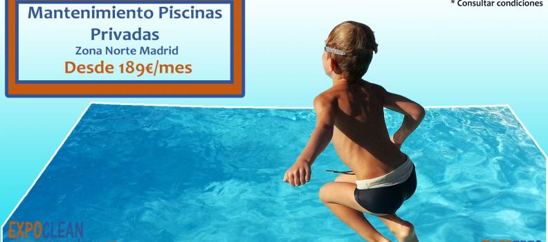 Mantenimiento Piscinas Privadas desde 189€/mes