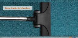 Consejos: cómo limpiar las alfombras