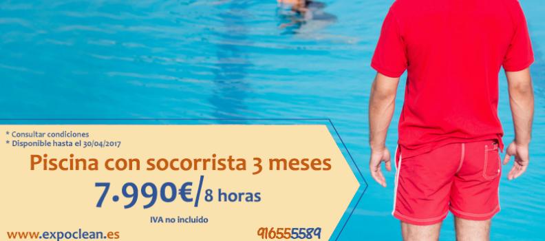 Mantenimiento Piscina con Socorrista 7.990€